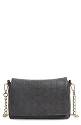 Junior Women's Emperia Quilted Faux Leather Crossbody Bag Grey Slate