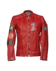 S.W.O.R.D. Jackets Red