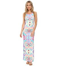 6 Shore Road Mid Day Maxi Dress Cover Up Floral Bazaar Women's Swimwear Multi