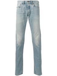 Simon Miller Slim Fit Jeans Men Cotton 32 Blue