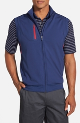 Bobby Jones 'Xh20 Rtj2' Wind And Water Resistant Four Way Stretch Golf Vest Summer Navy