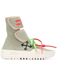 Off White Cst 001 Sneakers Grey