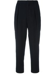 See By Chloe Cropped Trousers Blue