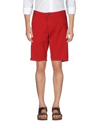 Solid Bermudas Red