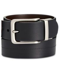 Fossil Brandon Reversible Leather Belt Black
