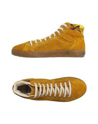Springa Footwear High Tops And Trainers Men Ochre