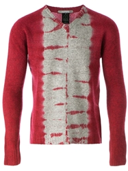 Suzusan Tie Dye Sweater Red
