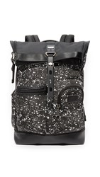 Tumi Alpha Bravo Luke Roll Top Backpack Galaxy Print