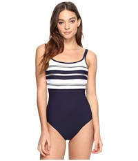Miraclesuit Sports Page Rigamarole One Piece Midnight Women's Swimsuits One Piece Navy