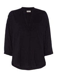 Label Lab Ellery Cocoon Top Black