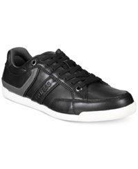 Guess Men's Jaystone Low Top Sneakers Men's Shoes Black