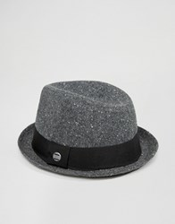 Esprit Trilby Hat Grey
