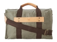 Will Leather Goods Wax Canvas Duffle Olive Duffel Bags