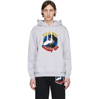 Moschino Grey Chinese New Year Mickey Rat Hoodie