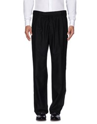 Emiliano Rinaldi Casual Pants Black