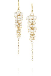 Rosantica Bravi Gold Tone Pearl Earrings