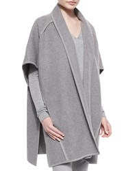 Donna Karan Double Faced Cashmere Belted Coat Women's