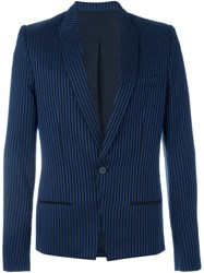 Haider Ackermann Striped Blazer Black