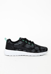 Missguided Phylon Outsole Sneakers Palm Print