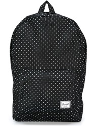 Herschel Supply Co. 'Classic' Polka Dot Backpack Black