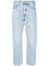 Levi's Wedgie Montgomery Straight Jeans Blue