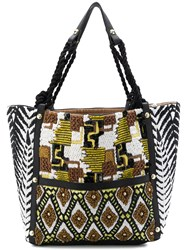 Jamin Puech Embroidered Tote Bag Multicolour
