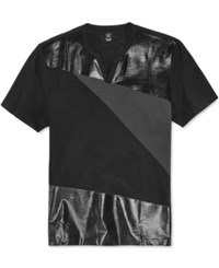 Inc International Concepts Men's Glory Mixed Media T Shirt Only At Macy's