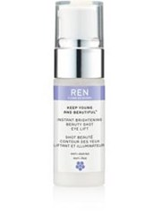Ren Instant Brightening Beauty Shot Eye Lift Colorless