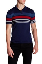Parke And Ronen Pipeline Polo Blue