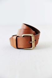 Urban Outfitters Antique Leather Belt Light Brown