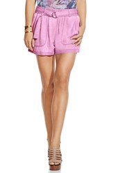 Women's Two By Vince Camuto 'Pastel Fade' Belted Cargo Shorts