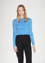Jil Sander Crewneck Long Sleeve Sweater Bright Blue