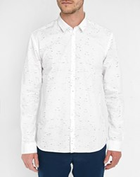 Minimum White Feroz Pr Print Shirt