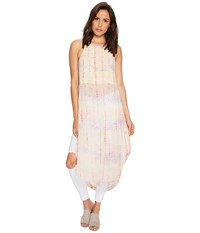 Free People Remember When Maxi Top Ivory Combo Women's Sleeveless Multi