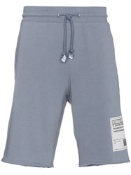 Maison Martin Margiela Stereotype Print Patch Sweat Shorts Grey