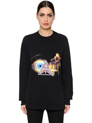 Givenchy Surreal Printed Cotton Jersey Sweatshirt