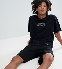 Pull And Bear Pullandbear Exclusive Oversize T Shirt In Black With Logo
