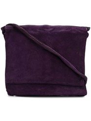 Guidi Large Pocket Bag Purple