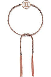 Carolina Bucci Gemini Lucky Zodiac 18 Karat Rose Gold