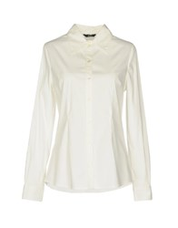 Guess By Marciano Shirts White