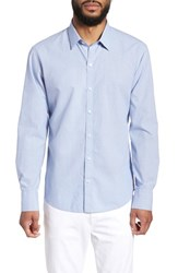 Zachary Prell Jamba Regular Fit Sport Shirt Blue