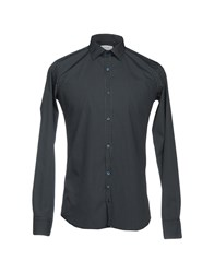 Aglini Shirts Dark Blue