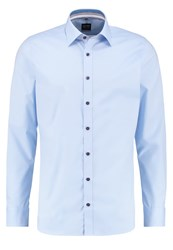 Olymp Level 5 Body Fit Shirt Hellblau Light Blue
