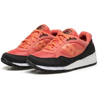 Saucony Coral Black Shadow 6000 Sneakers Pink