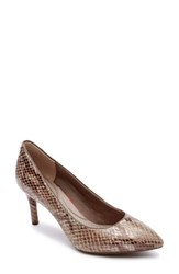 Rockport Women's 'Total Motion' Pump Nude Leather