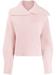 Zadig And Voltaire Arleen Cable Knit Jumper Pink