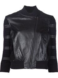 Ohne Titel Cropped Jacket Black