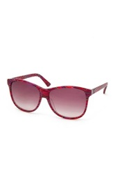 M Missoni Women's Wayfarer Acetate Frame Sunglasses Purple
