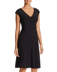Nic Zoe And Faux Wrap Dress Black Onyx