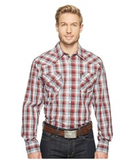 Cinch Modern Fit Western Plain Red Men's Clothing